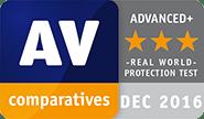 AV Comparatives Award 2016