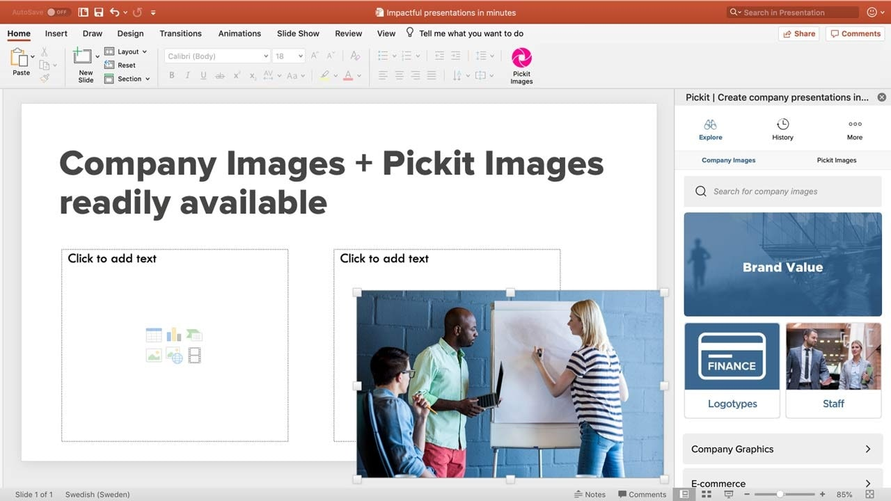 Pickit images readily available