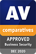 Approved Business Security Product award for December 2020